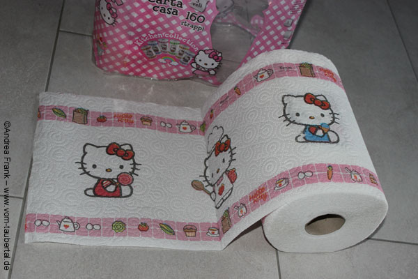 Hello Kitty Küchenrolle