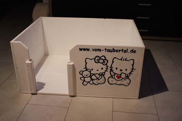Neue Wurfbox für unsere Katzen